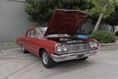 Chevrolet Chevelle en la exhibición Fotos de archivo