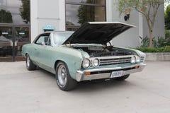 Chevrolet Chevelle en la exhibición Foto de archivo libre de regalías