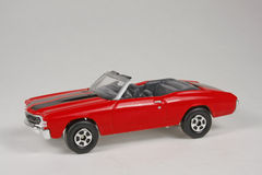 Chevrolet Chevelle SS 1971. 1971 Chevrolet Chevelle SS 1971, 1:64 scale, Matchbox 2006 Superfast #9 Stock Photography