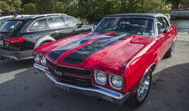 1970 chevrolet chevelle ss convertible Royalty Free Stock Photo