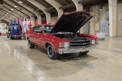 Chevrolet Chevelle ss su esposizione Immagini Stock