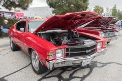 Chevrolet Chevelle ss su esposizione Immagine Stock Libera da Diritti
