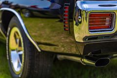 Chevrolet Chevelle toppen sport 1970 royaltyfria foton