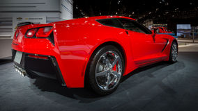 Chevrolet 2014 (Chevy) Corvette Photos libres de droits
