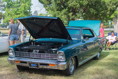 Chevrolet Chevy II SS car on display Royalty Free Stock Images