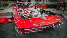Chevrolet (Chevy) korvetttolkning 1963 Arkivbild
