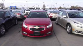 Chevrolet, Chevy, New Cars, American Cars stock video footage