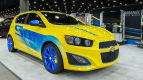 Chevrolet 2014 (Chevy) Sonic Turbo Royaltyfria Foton