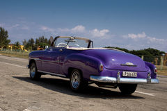 Chevrolet - Classic Cars in Havana, Cuba Stock Photography