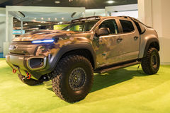 Chevrolet Colorado Military ZH2 Royalty Free Stock Photos