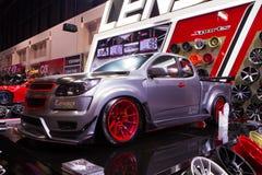 Chevrolet Colorado på expo för Thailand Internationalmotor Arkivbild