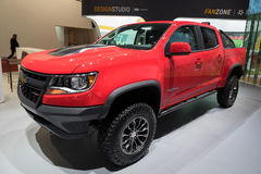 Chevrolet Colorado pick-up truck Stock Images