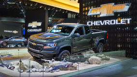 2017 Chevrolet Colorado ZR2 Royalty-vrije Stock Afbeeldingen