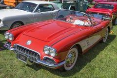 Chevrolet-Convertibel Korvet royalty-vrije stock foto's