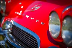 1962 Chevrolet-convertibel Korvet Royalty-vrije Stock Afbeeldingen