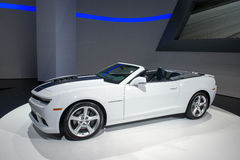 Chevrolet convertibele Camaro - wereldpremière Royalty-vrije Stock Afbeeldingen