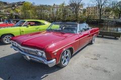 1966 Chevrolet-Convertibele 2-deur van de Impala de Super Sport Royalty-vrije Stock Fotografie