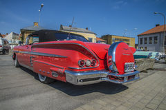 1958 Chevrolet-Convertibele Impala Royalty-vrije Stock Afbeelding