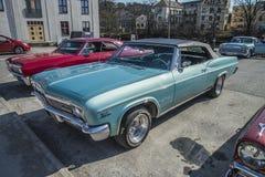 1966 Chevrolet-convertibele Impala SS Stock Fotografie