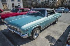 1966 Chevrolet-convertibele Impala SS Stock Afbeelding