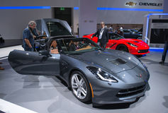 Chevrolet-convertibele Korvetpijlstaartrog Stock Foto