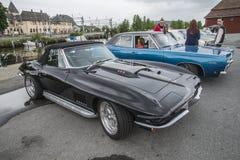 1967 Chevrolet-convertibele Korvetpijlstaartrog 496 Stock Afbeeldingen
