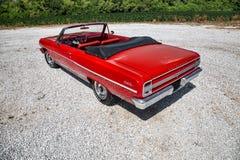 1964 Chevrolet convertibele Malibu Royalty-vrije Stock Fotografie