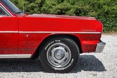 1964 Chevrolet convertibele Malibu Stock Foto