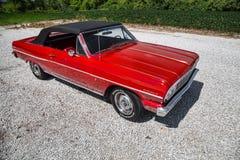 1964 Chevrolet convertibele Malibu Royalty-vrije Stock Afbeeldingen