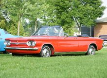 Chevrolet Corvair Royalty Free Stock Image