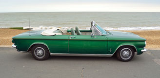 Chevrolet Corvair convertible Classic American rear engine car Royalty Free Stock Image
