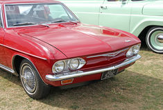 Chevrolet corvair vintage car Royalty Free Stock Photo