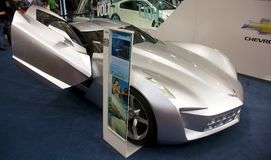 Chevrolet Corvette黄貂鱼概念 免版税图库摄影