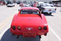 Chevrolet Corvette黄貂鱼 免版税图库摄影