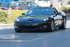 Chevrolet Corvette黄貂鱼 免版税库存图片