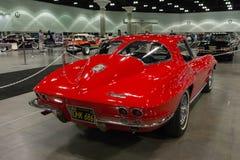 Chevrolet Corvette黄貂鱼 库存照片