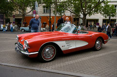 Chevrolet Corvette 1958 Photographie stock libre de droits