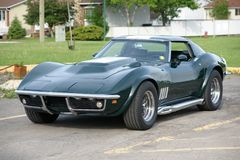 CHEVROLET CORVETTE 1969 Foto de Stock