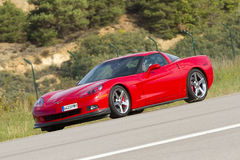 Chevrolet Corvette Royalty Free Stock Photo