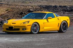 Chevrolet Corvette immagini stock