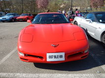 Chevrolet Corvette Photo libre de droits
