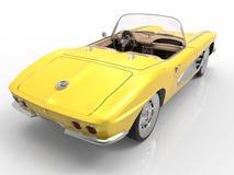 1958年Chevrolet Corvette 免版税库存照片