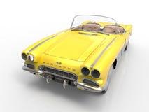 1958年Chevrolet Corvette 免版税图库摄影