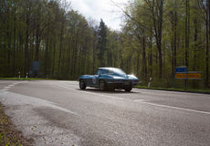 Chevrolet Corvette 1964 C2 à l'ADAC Wurttemberg Rallye historique 2013 photos libres de droits
