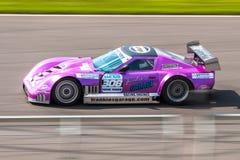 Chevrolet Corvette C4 tävlings- bil Fotografering för Bildbyråer