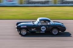 Chevrolet Corvette C1 tävlings- bil Fotografering för Bildbyråer