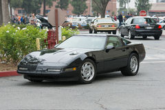 Chevrolet Corvette car on display. Woodland Hills, CA, USA - July 5, 2015: Chevrolet Corvette car on display at the Supercar Sunday car event Royalty Free Stock Photos