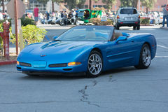 Chevrolet Corvette car on display. Woodland Hills, CA, USA - June 7, 2015: Chevrolet Corvette car on display at the Supercar Sunday car event Stock Image