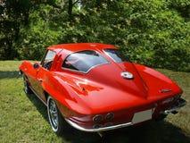 Chevrolet Corvette, coches del vintage Imagen de archivo libre de regalías