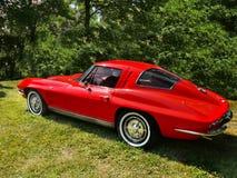 Chevrolet Corvette, coches del vintage Fotografía de archivo libre de regalías